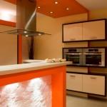 Światło w kuchni - aranżacja z ekspozycji